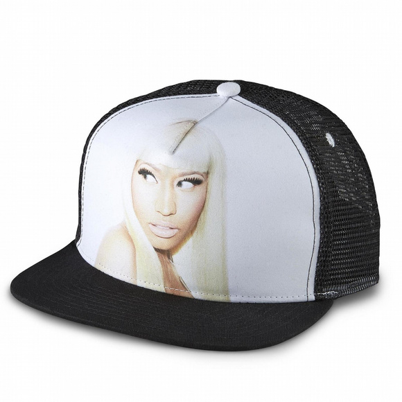 3d5a17e3ba2ad Kmart Accessories - NWT Nicki Minaj Women s Trucker Hat - Face
